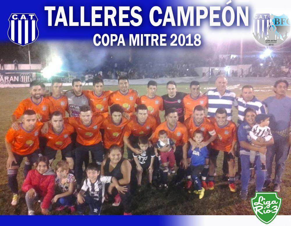 Talleres Campeón de la Copa Mitre