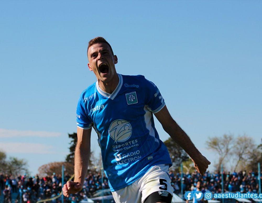 El Colo Cabrera marcó su primer gol en la Primera Nacional ...
